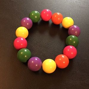 Colourful bracelet 🌈